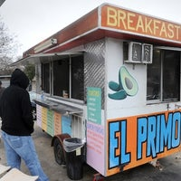 Photo taken at El Primo Taco Truck by Austin Chronicle on 2/11/2014
