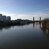 Photo taken at I Street Bridge by Michael P. on 2/10/2013
