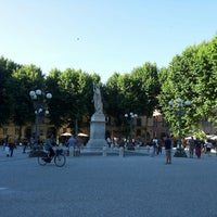 Photo taken at Piazza Napoleone by Andrei Z. on 6/16/2013