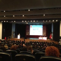 Photo taken at Hacettepe Üniversitesi Kültür Merkezi M Salonu by Nildem K. on 6/27/2013