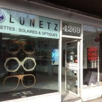 Photo taken at Lunetz by LUNETZ M. on 5/21/2013