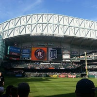 Photo taken at Minute Maid Park by Alexandra on 5/4/2013