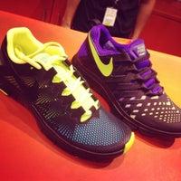 Photo taken at Nike Stadium by Renz C. on 11/17/2013