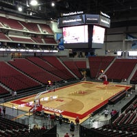 Photo taken at Pinnacle Bank Arena by Brett M. on 8/30/2013