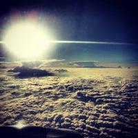 Photo taken at Nikola Tesla Airport (BEG) by Ana M. on 7/20/2013