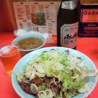 Photo taken at 菜苑 浅草本店 by Kimito T. on 7/19/2013