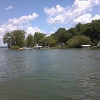 Photo taken at Lake Koronis by Dan S. on 7/8/2012