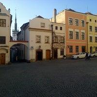 Photo taken at Žerotínovo náměstí by Jiri on 3/9/2014