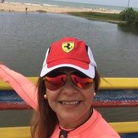 Photo taken at Playa de Boca de Uchire by Aracelis M. on 4/23/2016