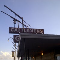 Photo taken at Cattlemen's Steakhouse by Norah B. on 3/30/2013