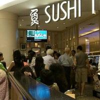 Photo taken at Sushi Tei by dewi masyithah d. on 10/6/2012