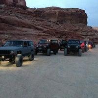 Photo taken at Poison Spider Mesa Trail by Kim T. on 3/29/2013