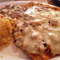 Photo taken at El Tenampa Mexican Restaurant by Stephanie S. on 12/29/2012