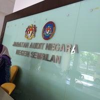 Photo taken at Jabatan Audit Negara, N. Sembilan by Sharifah N. on 2/1/2016