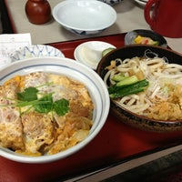 Photo taken at 生蕎麦 山中屋 by nek on 6/13/2013