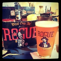 Photo taken at Rogue Ales Public House by Mark K. on 9/27/2012