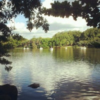 Photo taken at Parque Portugal - Lagoa do Taquaral by Cassiana P. on 3/3/2013
