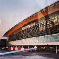 Photo taken at Zurich Airport (ZRH) by Ekaterina G. on 8/9/2013