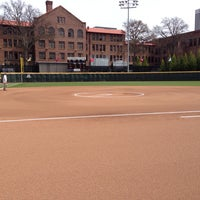 Photo taken at Shirley Clements Mewborn Field by Morgan N. on 3/21/2014