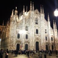 Photo taken at Milan Cathedral by Natalia M. on 4/18/2013
