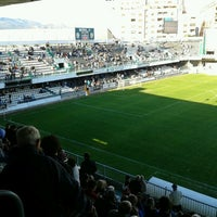 Photo taken at Estadio Municipal Castalia by Ismael B. on 4/21/2013