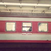 Photo taken at 秦皇岛站 Qinhuangdao Railway Station by Fred J. on 3/21/2014