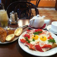 Photo taken at Creperie De Paris by Михаил М. on 3/1/2013