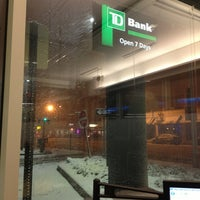 Photo taken at TD Bank by Ryan K. on 1/22/2013