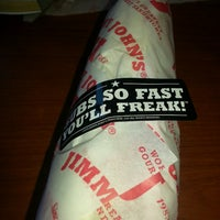Photo taken at Jimmy John's by Marie R. on 12/17/2013