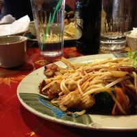 Photo taken at Khan's Mongolian Barbeque by Amanda V. on 3/11/2013