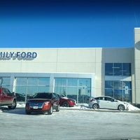 Photo taken at Luther Family Ford by Shawn D. on 1/23/2014