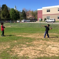 Photo taken at Rogers-Herr Middle School by Samuel M. on 4/3/2016