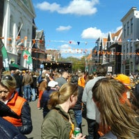 Photo taken at Nieuwe Groenmarkt by Ruud K. on 4/27/2015