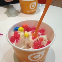 Photo taken at Orange Leaf Frozen Yogurt by Sydney B. on 1/24/2013
