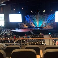 Photo taken at Willow Creek Community Church by Aaron C. on 1/27/2013