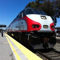 Photo taken at Hillsdale Caltrain Station by andreu i. on 5/20/2013