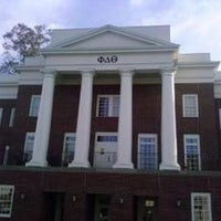 Photo taken at Phi Delta Theta by The Red & Black on 1/24/2013