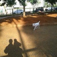 Photo taken at גינת הכלבים קיריית השרון by Yoav F. on 1/2/2013