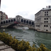 Photo taken at Hotel Al Ponte Antico by Paulina O. on 4/27/2014