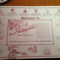 Photo taken at Lee's Restaurant by Mrgrim on 3/30/2013