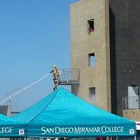Photo taken at San Diego Miramar College by Perette G. on 9/11/2014