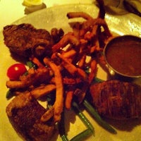 Photo taken at Le Steak Frites St-Paul by An S. on 1/26/2013