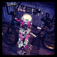 Photo taken at Clapham Skate Park by Dennis 'Lyrique' J. on 1/30/2013