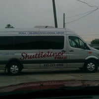Photo taken at Shuttleliner Of Ocala by Loriann R. on 3/18/2013