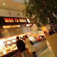Photo taken at Wok to Walk by Carlos S. on 4/13/2013