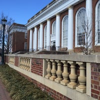 Photo taken at Alderman Library by Marguerite K. on 2/13/2016