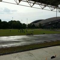 Photo taken at Stadium Mini Shah Alam by Papa Q. on 10/16/2016
