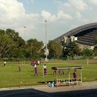 Photo taken at Stadium Mini Shah Alam by Papa Q. on 9/24/2016