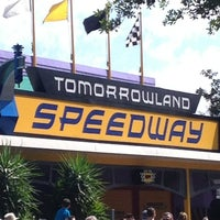 Photo taken at Tomorrowland® Speedway by Jerry B. on 2/27/2013