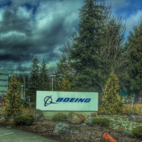 Photo taken at The Boeing Co. by Hakan T. on 3/4/2016